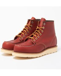 Red Wing - 6 Inch Classic Moc Toe Boots - Lyst