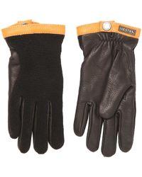 Hestra - Deerskin Wool Tricot Gloves - Lyst