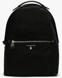 Michael Kors - Kelsey Black Nylon Backpack - Lyst