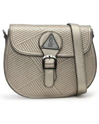 00772a403e Fly London - Kadi Silver Metallic Shoulder Bag - Lyst