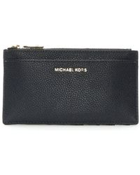 Michael Kors - Large Slim Admiral Leather Card Case - Lyst