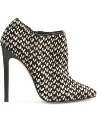 Gina - Pony Fur Ankle Boots - Lyst