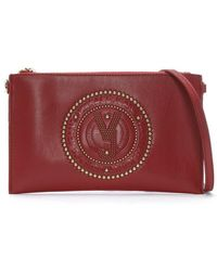 Versace Jeans - Charm Red Embellished Cross-body Bag - Lyst