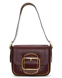 Tory Burch - Sawyer Port Suede Shoulder Bag - Lyst