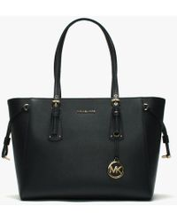 Michael Kors - Voyager Admiral Saffiano Leather Tote Bag - Lyst
