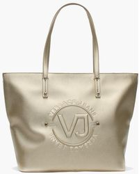 Versace Jeans - Komi Gold Logo Shopper Bag - Lyst