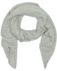 UGG - Luxe Graphite Heather Cashmere Oversized Wrap - Lyst