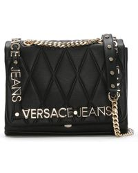 Versace Jeans - All Over Quilt Chain Shoulder Bag - Lyst 55d7f477169b2