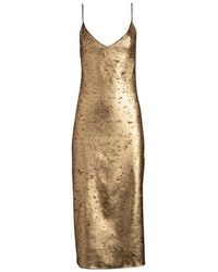 DANNIJO - Zelda Midi Slip Dress - Lyst