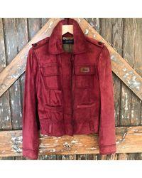 DANNIJO - Vintage Gucci Suede Jacket - Lyst
