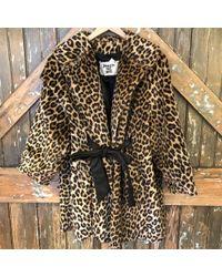 DANNIJO - Vintage Leopard Print Jacket - Lyst