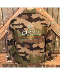 DANNIJO - Vintage Gucci Camo Jacket - Lyst
