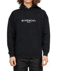 Givenchy Logo Hoodie - Black