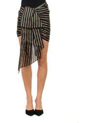 Alexandre Vauthier - Asymmetrical Skirt - Lyst