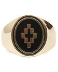 Marcelo Burlon - Logo Ring - Lyst