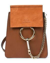 Chloé - Faye Mini Shoulder Bag - Lyst