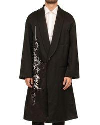 Haider Ackermann - Embroidered Coat - Lyst
