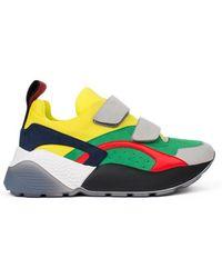 Stella McCartney - Eclypse Colour Block Sneakers In Multicolour - Lyst