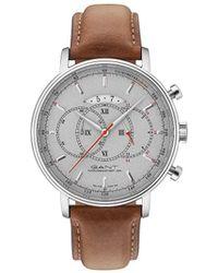 GANT - Cameron Watch - Grey Dial, Cognac Strap - Lyst