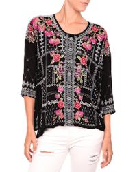 Johnny Was - Carnation Blouse - Lyst