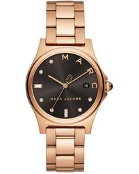 Marc By Marc Jacobs - Henry Rose Gold-tone Watch - Lyst