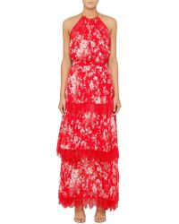 Lover - Midsummer Pleat Maxi Dress - Lyst