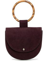 Theory - Whitney Bag In Nubuck Leather - Lyst