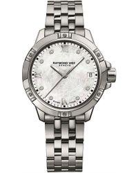 Raymond Weil - Tango Quartz Watch With Diamonds - Lyst