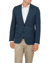 Paul Smith - Wool Textured Plain Lined Jacket - Lyst