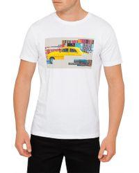 BOSS Orange - Tux 2 Cuba Motif Print Tee - Lyst