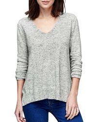 Gap - Cotton Essential V-neck Jumper - Lyst