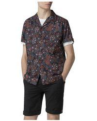 Ben Sherman - Ss Peacock Print Shirt - Lyst