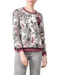 Maje   Teresa Embellished Sweatshirt   Lyst