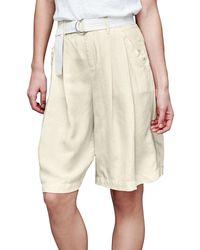 Gap - Drapey Bermuda Shorts - Lyst