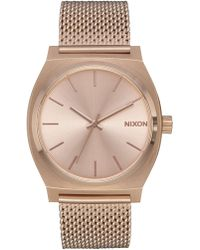 Nixon - Time Teller Milanese Watch - Lyst