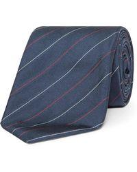 BOSS - 2 Colour Stripe Tie - Lyst