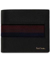 Paul Smith - 8cc Billfold Wallet With Striped Webbing - Lyst