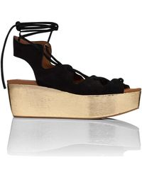 See By Chloé - Corsetry Flatform Wedge Sandal (liana) - Lyst