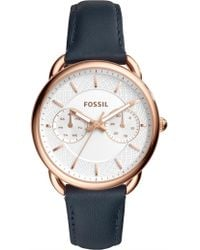 Fossil - Tailor Blue Watch - Lyst