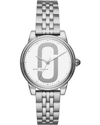 Marc By Marc Jacobs - Corie Silver Watch - Lyst