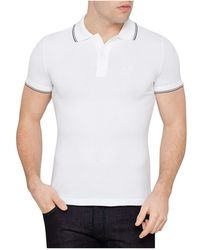Armani Jeans - Short Sleeve Polo - Lyst