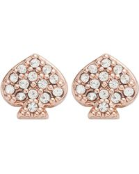 Kate Spade - Crystal Studs - Lyst