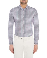 Richard James - Tile Print Shirt - Lyst
