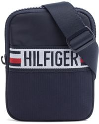 Tommy Hilfiger - Tommy Compact Crossover Sports Tape Bag - Lyst