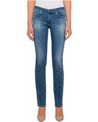 AG Jeans - Harper Mid Rise Straight Leg - Lyst