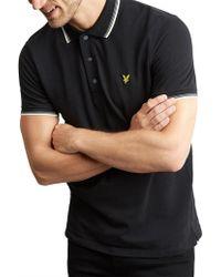 Lyle & Scott - Tipped Polo Shirt - Lyst