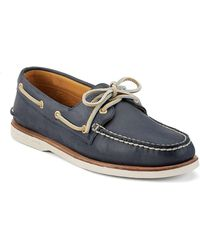 Sperry Top-Sider - Gold A/o 2-eye Boat Shoe - Lyst