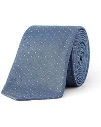Paul Smith - Micro Spot Textured Tie - Lyst