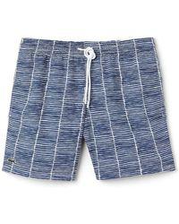 Lacoste - Printed Swim Short - Lyst