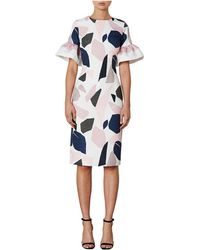 BY JOHNNY. - Terrazzo Feature Sleeve Dress - Lyst